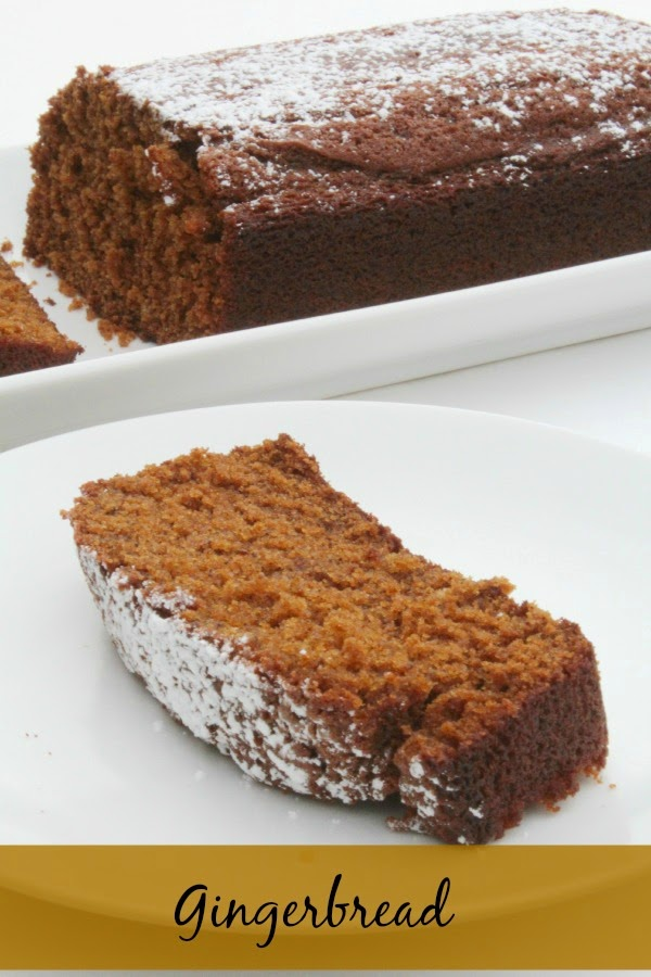 gingerbread loaf recipe