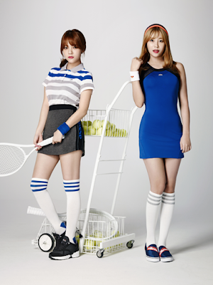 AOA Ace of Angels Ellesse Spring Sumer 2016