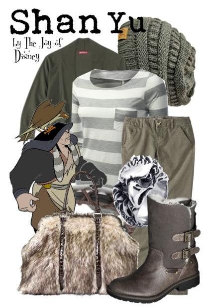 Shan Yu Outfit, Disney Villain