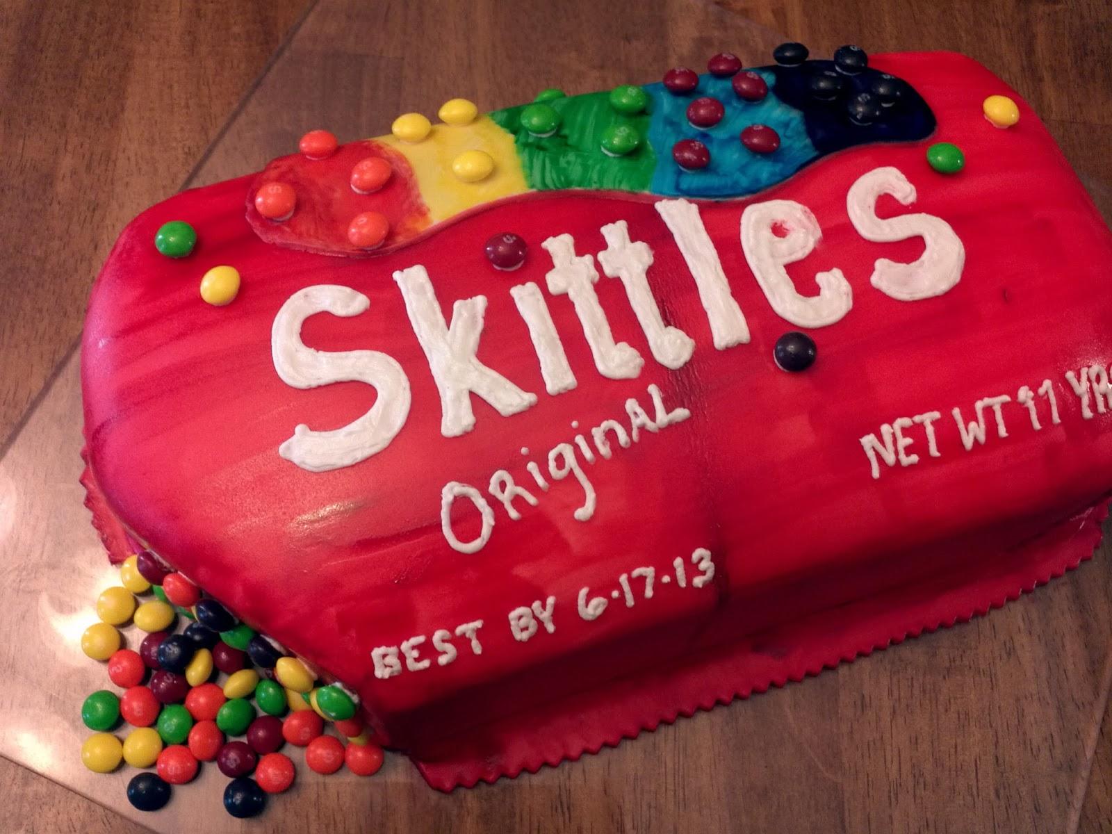 Skittles cake picture cake ideas and designs for Cake craft beavercreek ohio