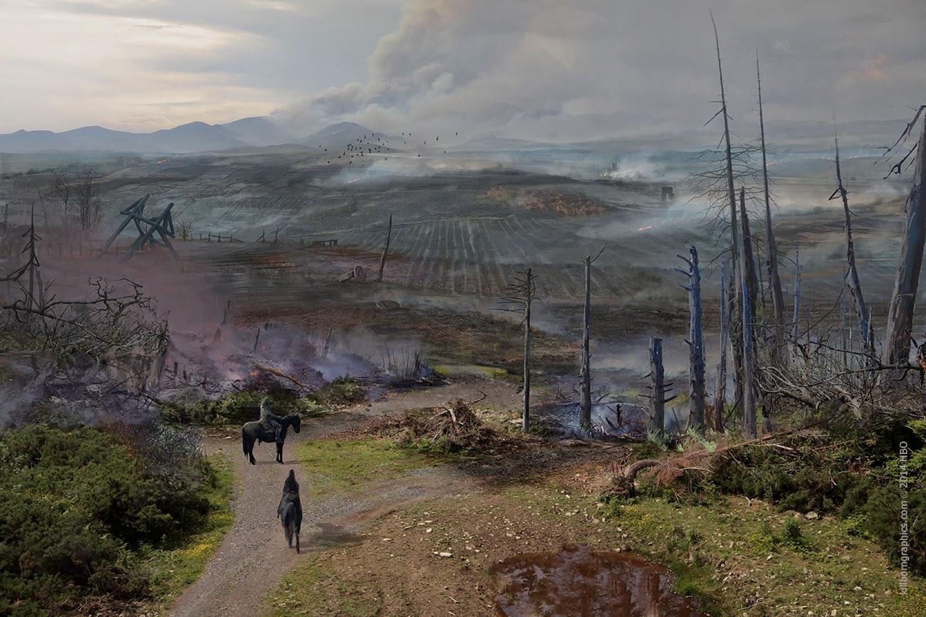 The Art Of Simon Robert Game Of Thrones Work