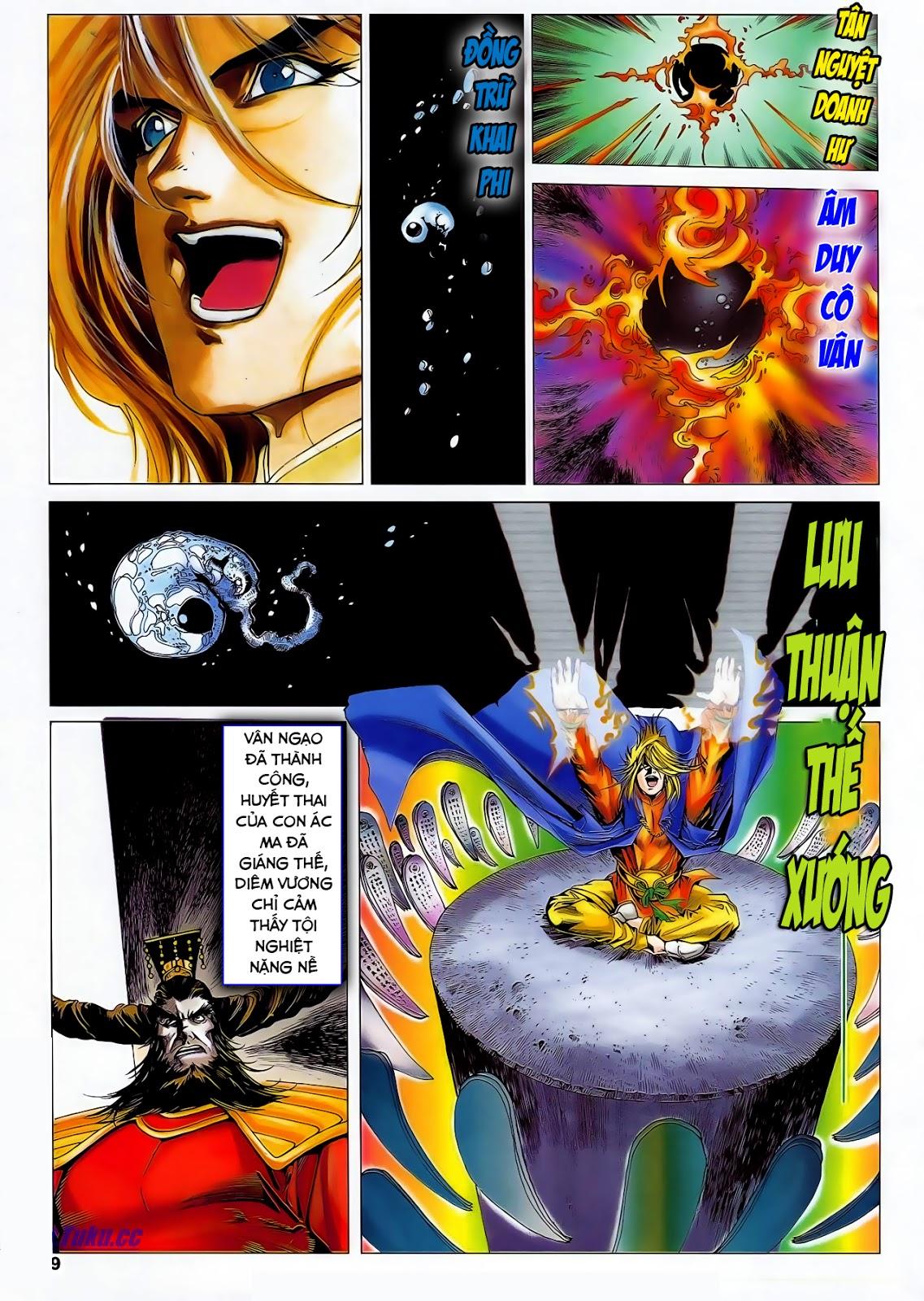 Lục Đạo Thiên Thư chap 47 - Trang 11
