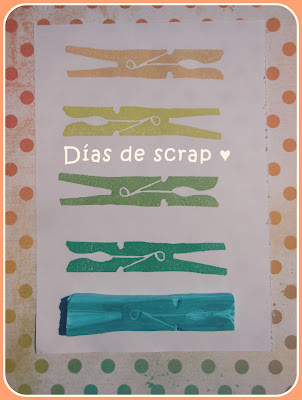 sello handmade pinza scrap