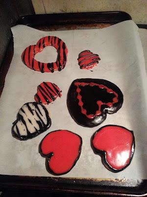 Valentine's Cookies, Sugar Cookies, cookies for Valentine's Day