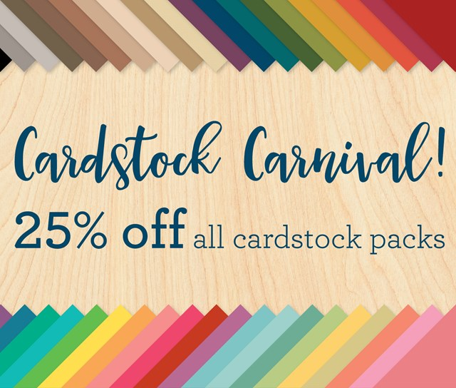 Sale 25% Off CTMH All Regular Cardstock Packs