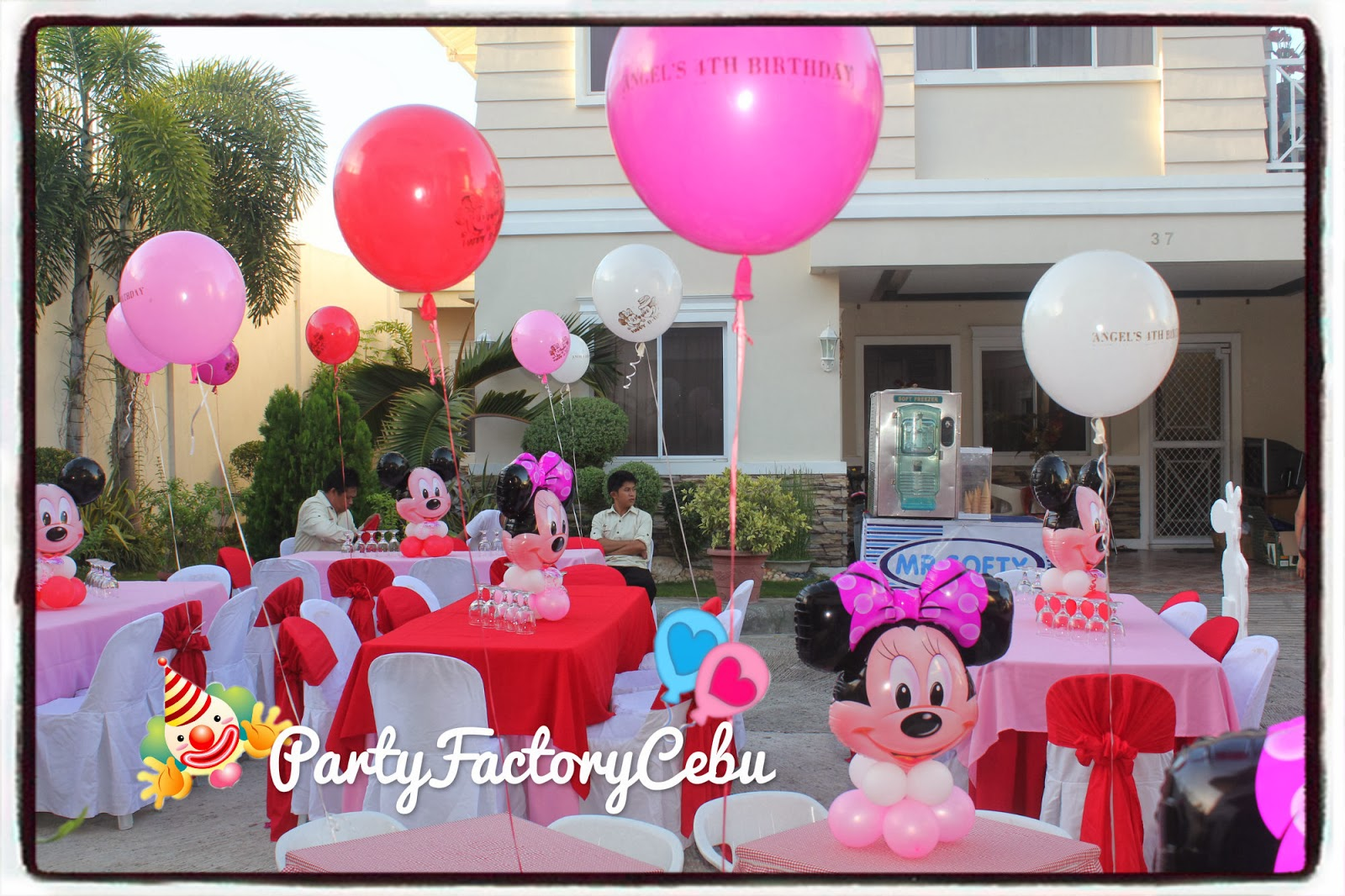 Welcome To Partyfactory Cebu Angel S 4th Birthday Bash
