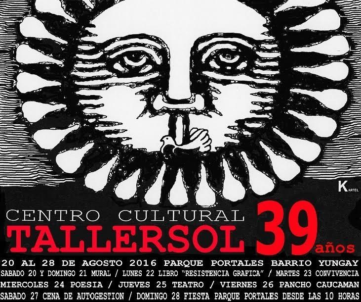 SANTIAGO: CENTRO CULTURAL TALLER SOL 39 AÑOS