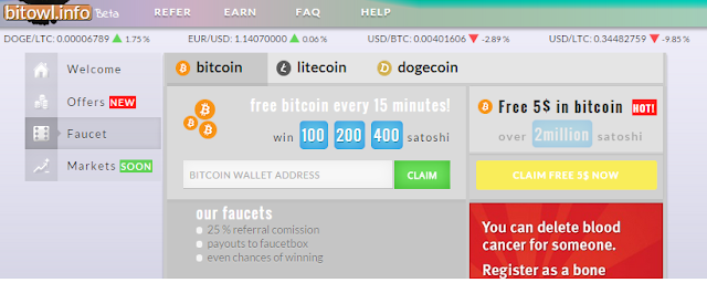 Best New faucet bitcoin, litecoin, doge | freebox Bitcoin