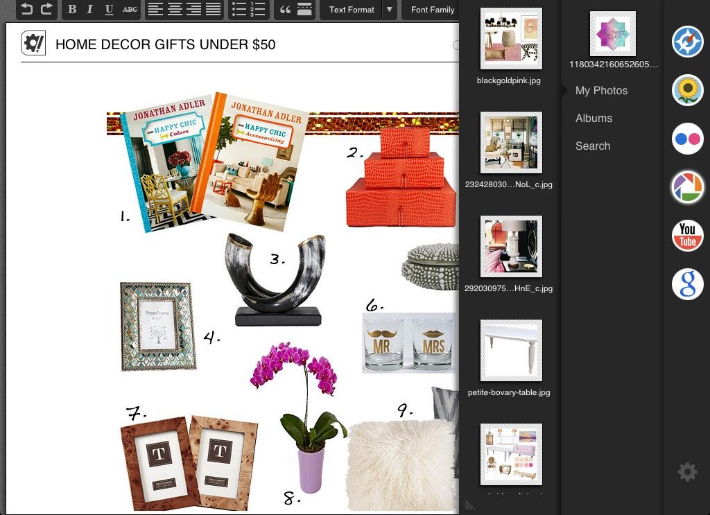 Dalliance Design A Love Affair With Design Top Ipad