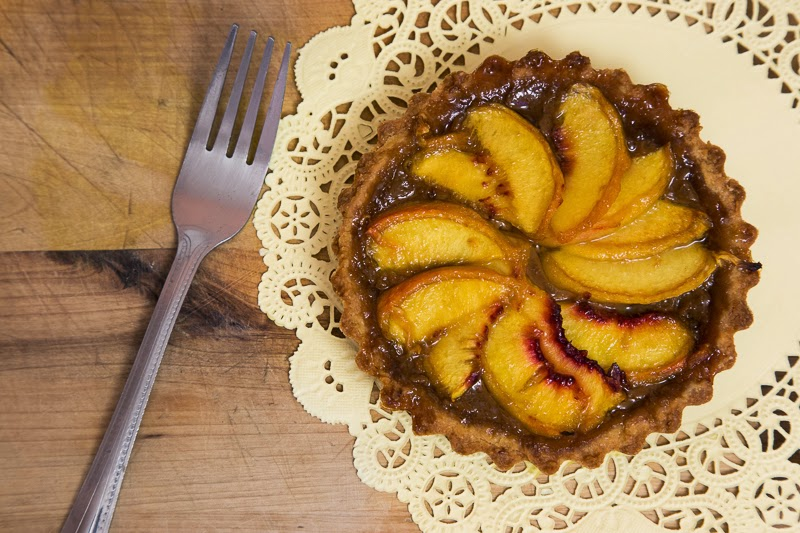 Peach Iced Tea Tart