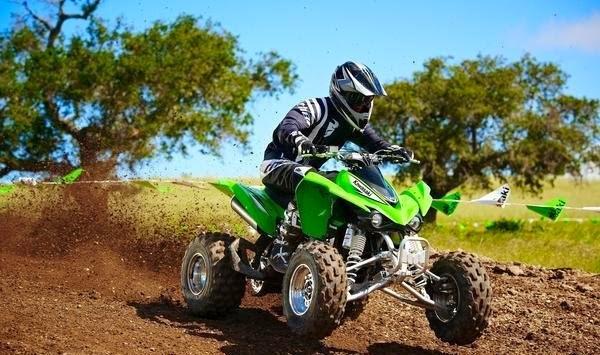 Kawasaki KFX 450R ATV Bikes