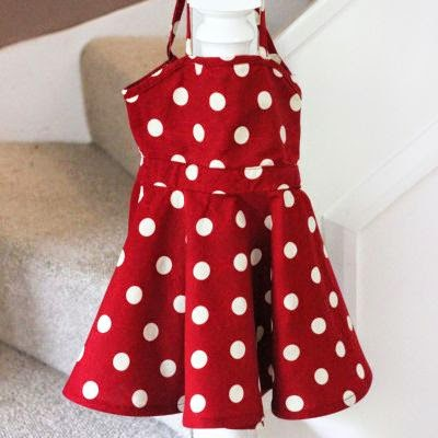 Vintage girl summer dress