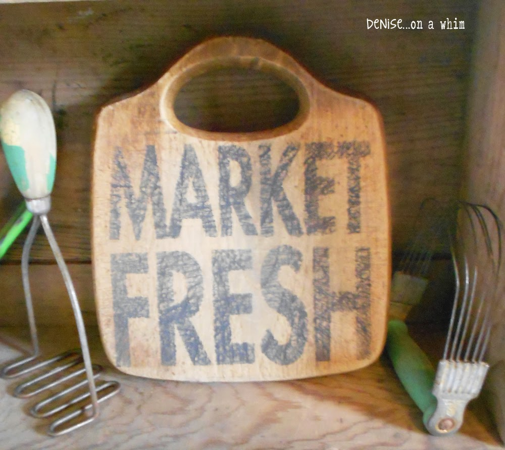 Upcycled Cutting Board Signs from Denise on a Whim