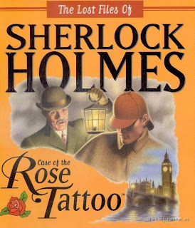 sherlock holmes rosa tatuada
