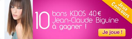 10 bons cadeaux Jean-Clade Biguine de 40 euros