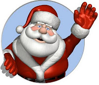 santa waving goodbye