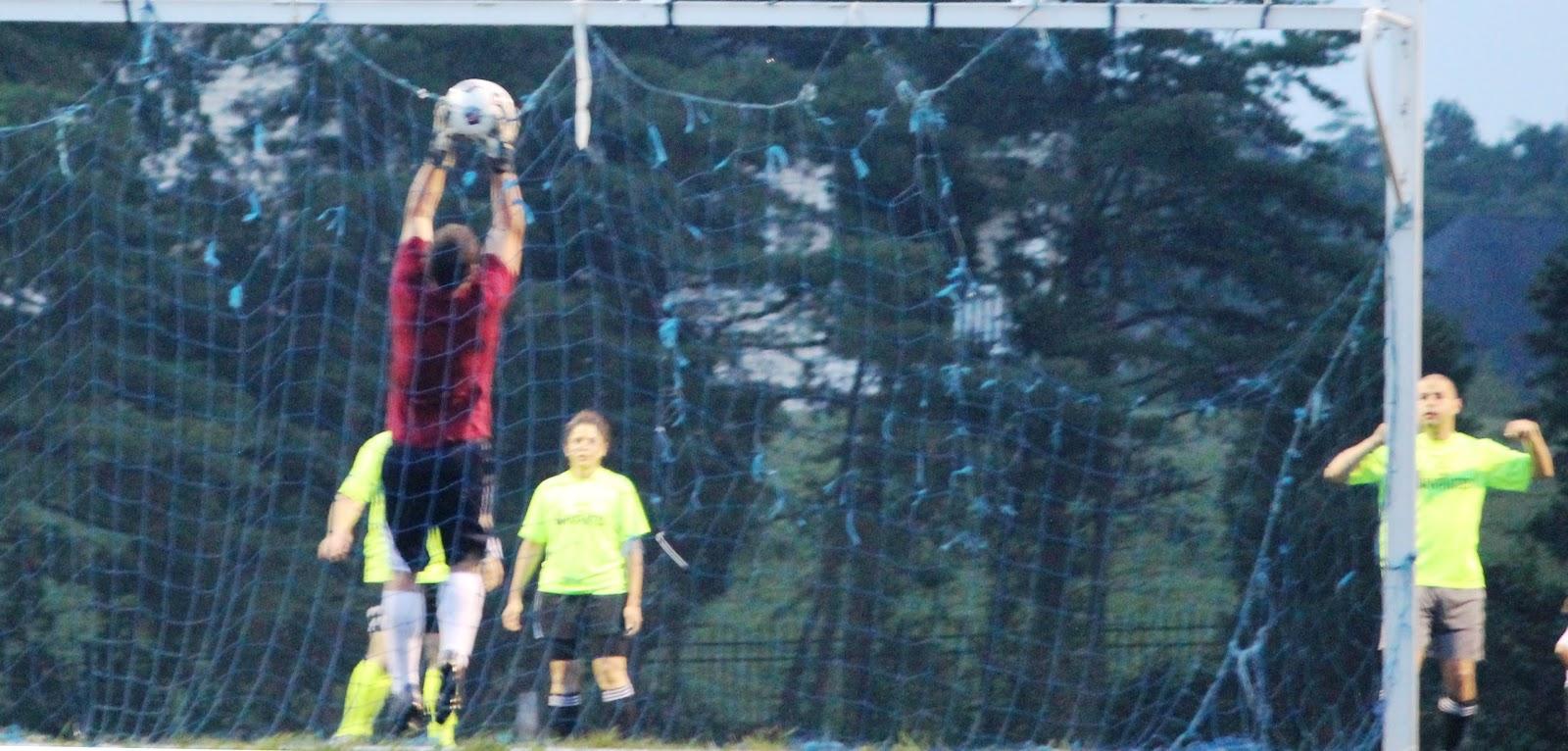 Lake Fairfax Soccer At Dusk