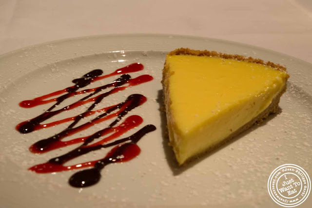 Image of Key Lime pie at Empire Steakhouse in NYC, New York