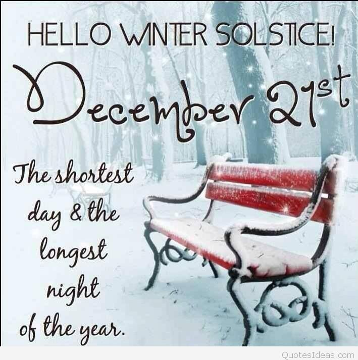 Beautiful She Who Seeks: Winter Solstice Blessings To You All!