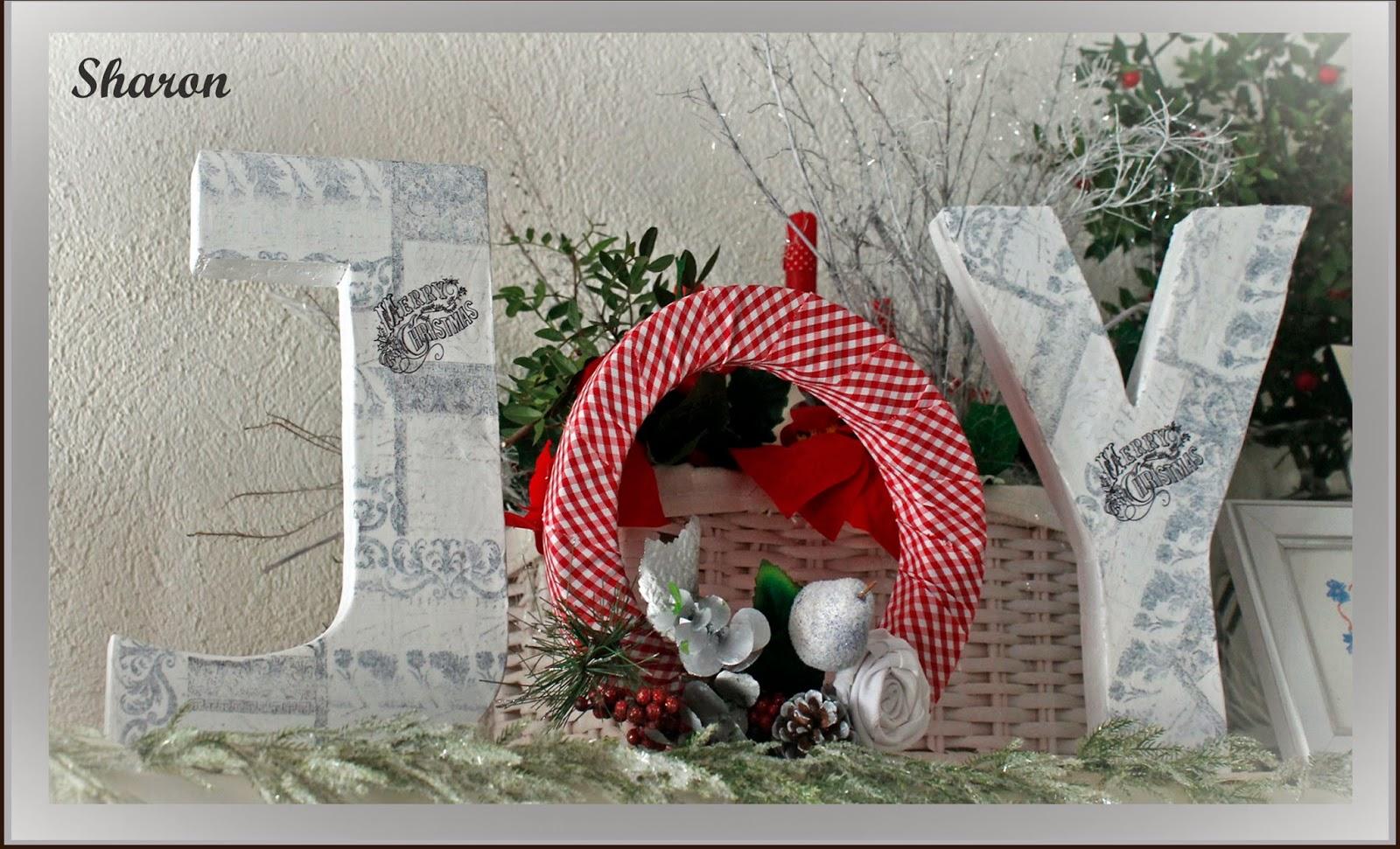 Las manualidades de sharon diciembre 2013 for Manualidades para diciembre