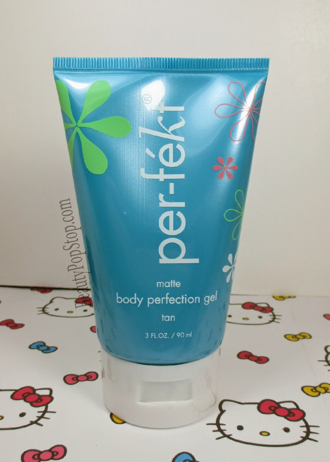 perfekt matte body perfection gel in tan review