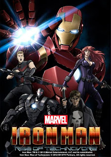 Ver online: Iron Man: La rebelión del technivoro (Iron Man: Rise of the Technovore / Ironman Anime Movie) 2013