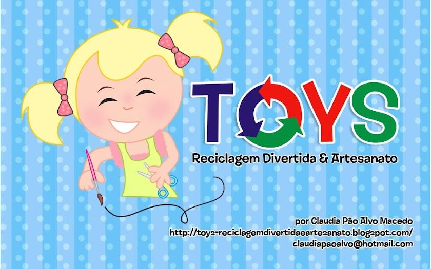 toys - Reciclagem divertida e artesanato
