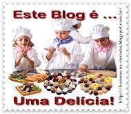 Mais um selinho que ganhei R&M do blog delicias na cozinha