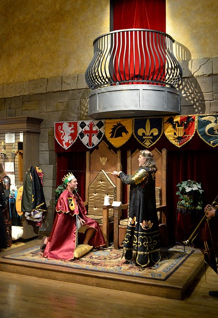 Knighting Ceremony, Medieval Times Atlanta