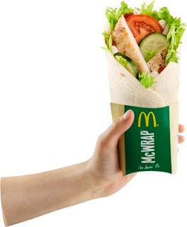 McDonald's Grilled Chicken McWrap