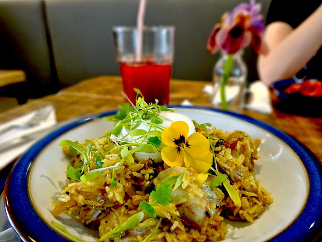 Wildflower Cafe Notting Hill - Kedgeree