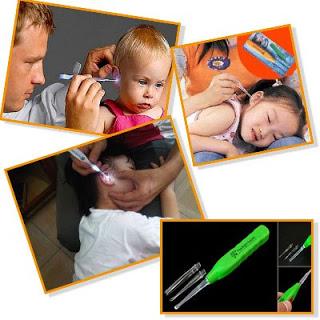 grosir flashlight earpick alat pembersih telinga anak bayi lampu harga termurah