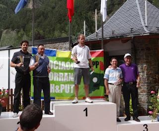 ganadores del Open Andorra FIPPA Pitch & Putt 2012