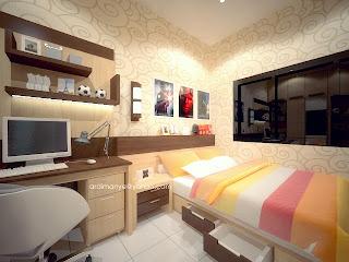 kamar anak tempat tidur