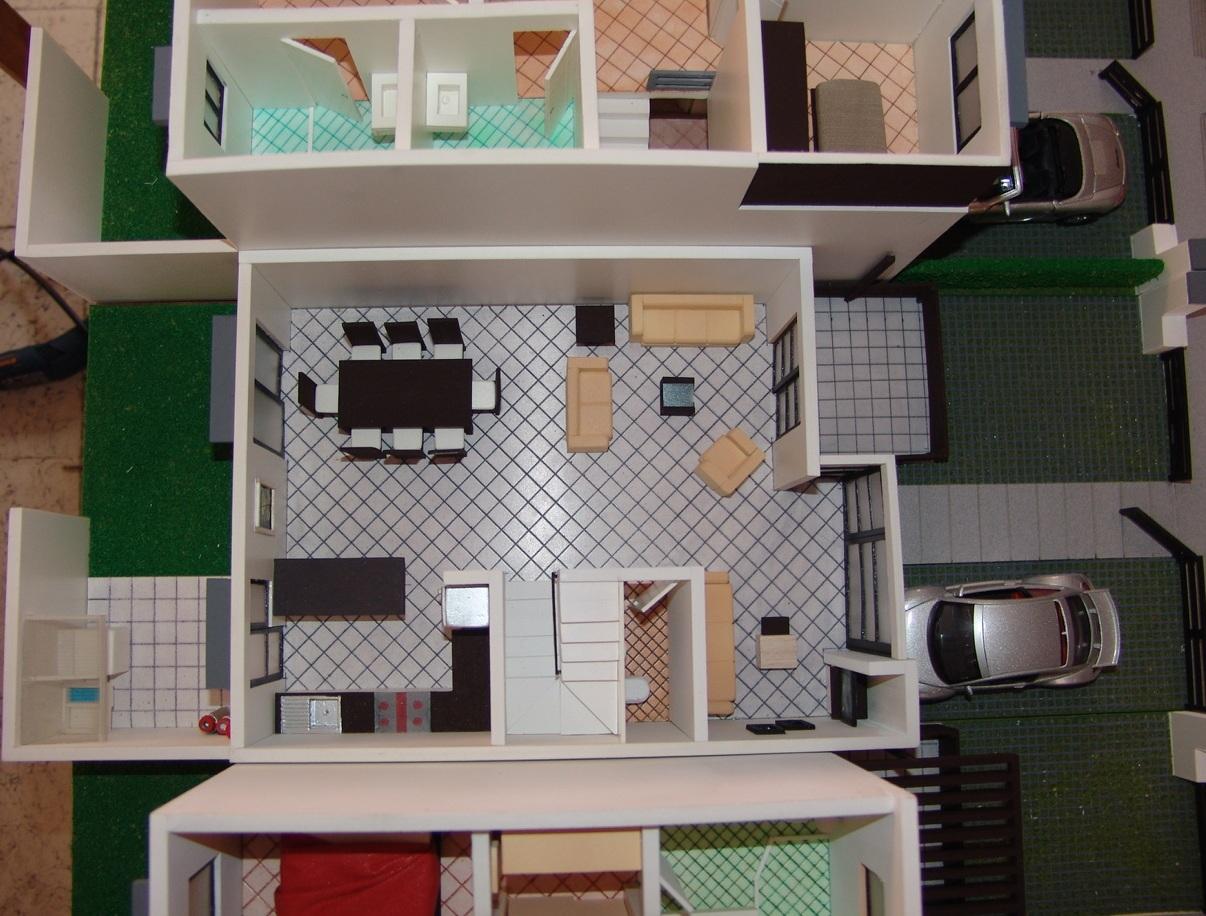 Maqueta casa habitacion muebles maqueta casa habitacion for Muebles para casa habitacion