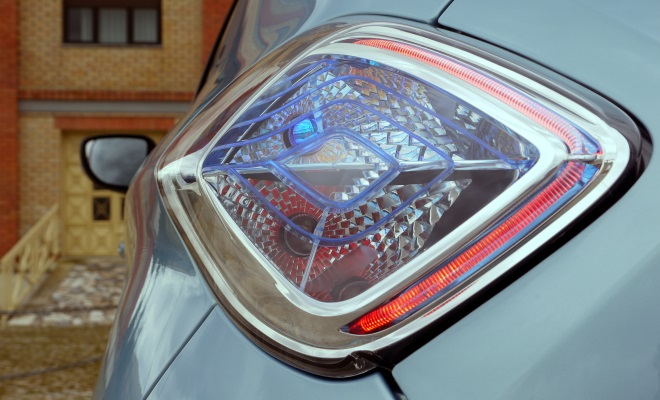 Renault Zoe EV rear lamp cluster