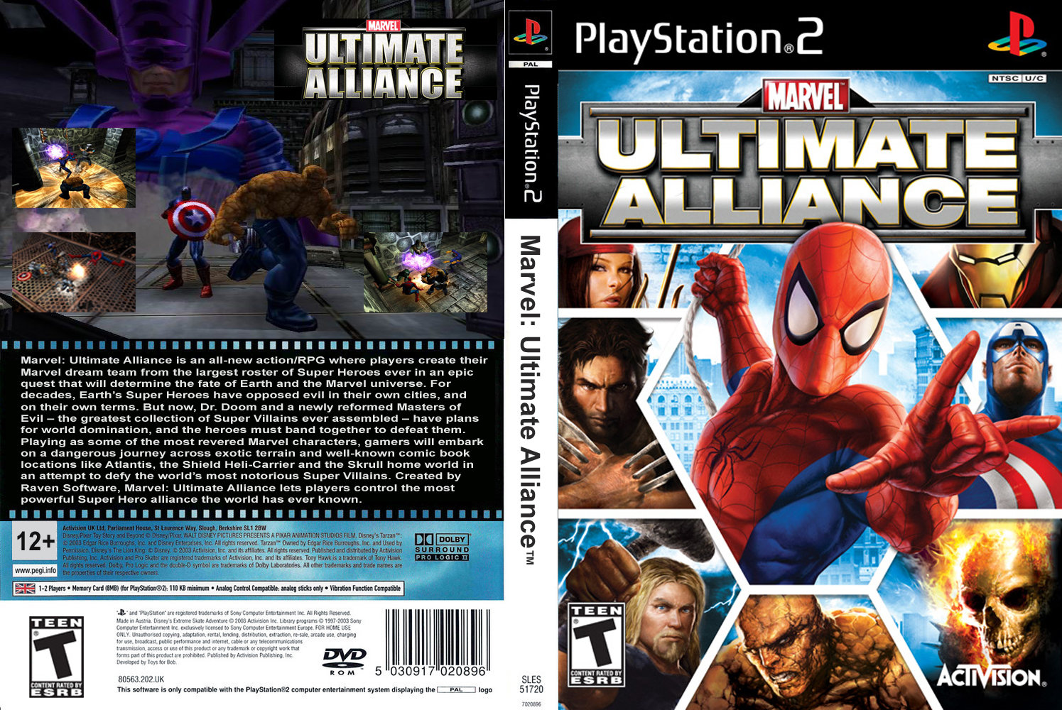 Marvel Ultimate Alliance 2 PC Game - Free Download Full Version