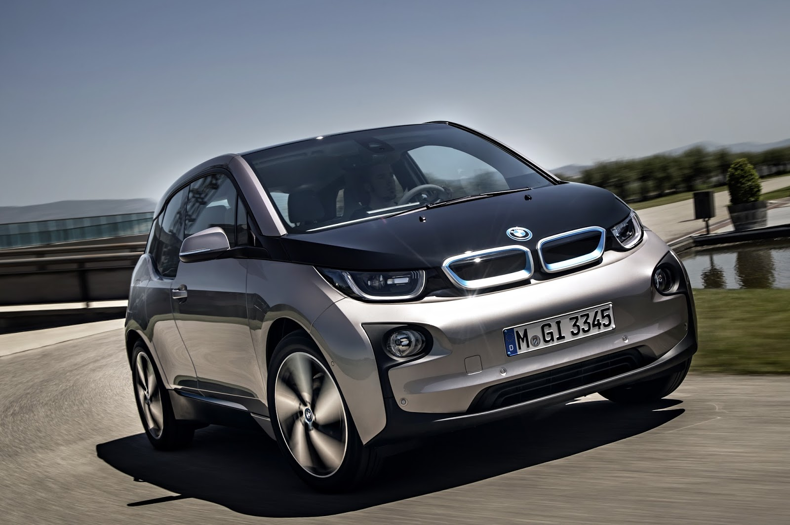 voiture du futur bmw i3 une lectrique connect e. Black Bedroom Furniture Sets. Home Design Ideas