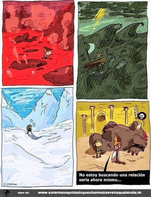 Link y zelda, historia de amor