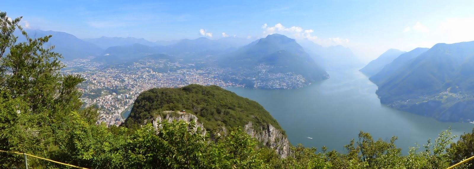 Lugano, Monte San Salvatore