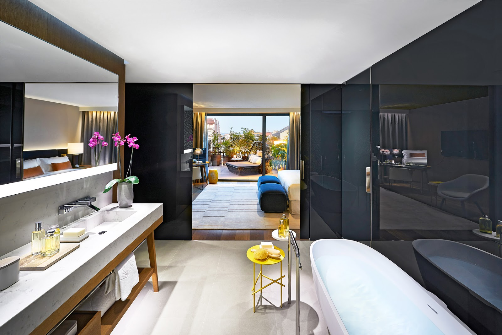 the mandarin oriental barcelona designed by patricia urquiola is sleek and contemporary with subtle asian touches now opens fabulous suites and  : bathroom suite mandarin