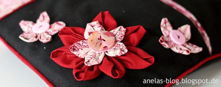 Tasche Maya Stoffblüten