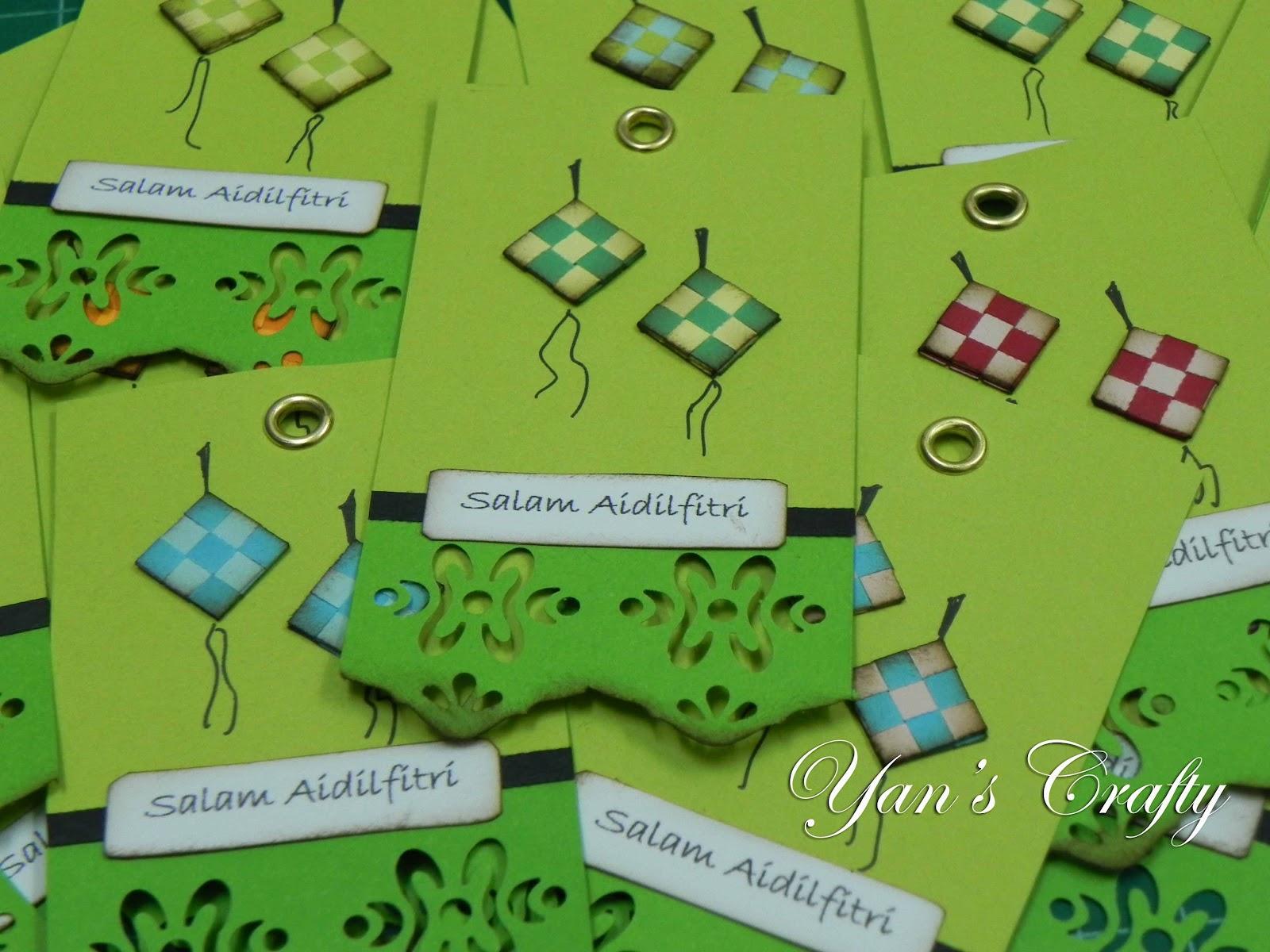 Yan's Crafty Idea: Selamat Hari Raya 2012