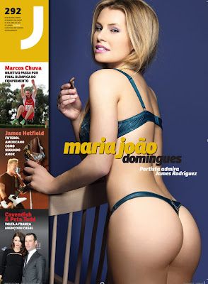 Maria João Domingues é capa da Playboy Portugal