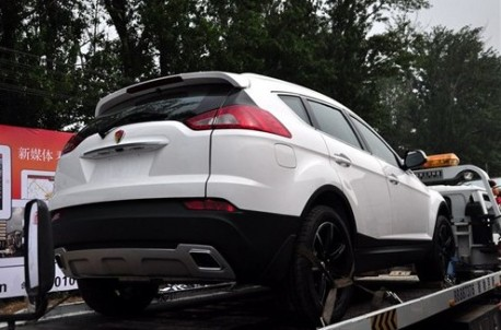 Malaysia Motoring News First Photo Of Youngman Lotus Suv Close
