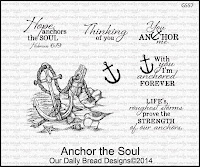 Our Daily Bread designs Anchor the Soul