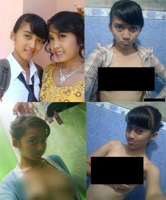 Anak SMP ini benar-benar berani pamer tubuh telanjang di internet.