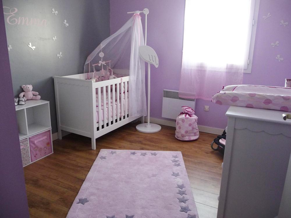 Baby bedroom decoration decor de chambre a coucher de bebe - Deco mural chambre bebe ...