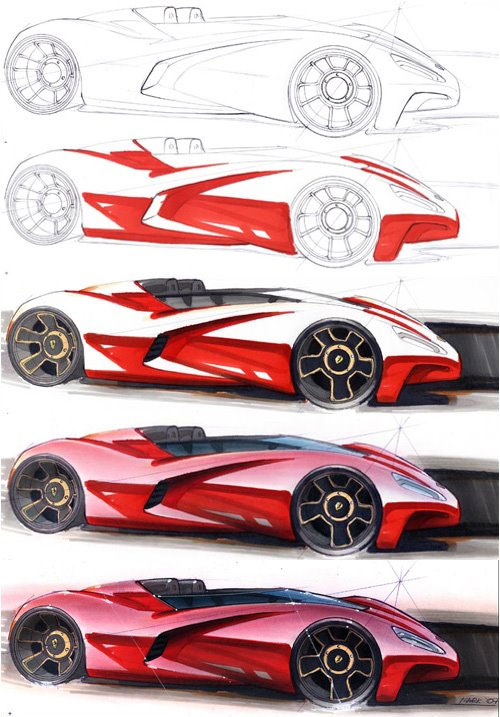 Mark Randall ::: Marker rendering