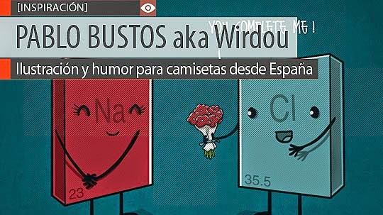 Ilustración y humor de PABLO BUSTOS aka Wirdou.